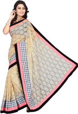 Ragini Saree Self Design Bollywood Net Sari