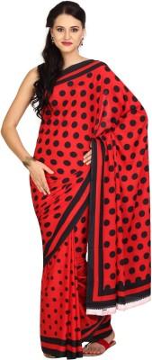 Aaboli Printed Fashion Crepe Sari