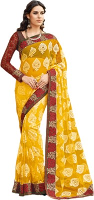 Hypnotex Printed Fashion Net Sari
