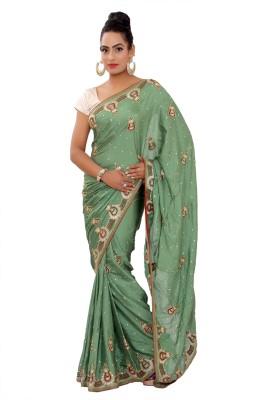Shri Narayan Fashions Embriodered Fashion Art Silk Sari