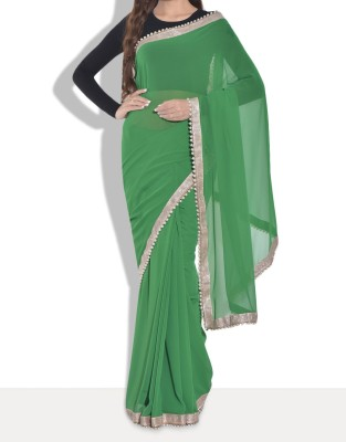 Parmar Design Self Design Bollywood Georgette Sari