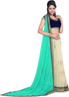 Florence Embriodered Bollywood Synthetic Chiffon Sari