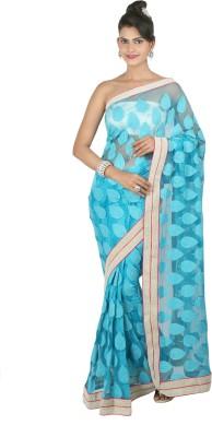 Shwapparels Self Design Fashion Net Sari