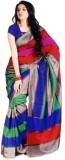 Textilebaba Self Design Fashion Silk Sar...