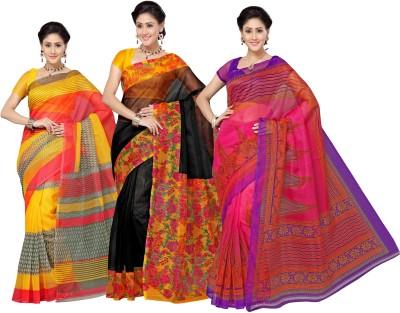Aanya Printed Kota Doria Kota Cotton Sari
