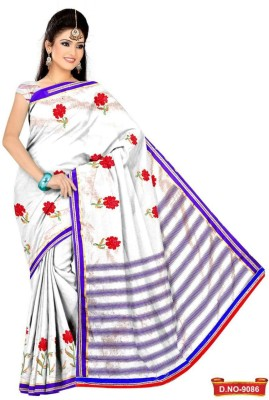 Priyankaa Sarees Self Design Fashion Synthetic Sari