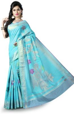 SSPK Embellished Banarasi Handloom Cotton Sari