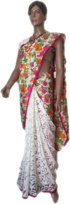 VanshikasCollections Self Design Fashion Brasso Sari