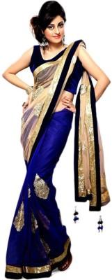 Style Amaze Plain Daily Wear Net Sari