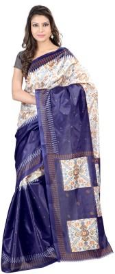 DK Fashion Solid Bollywood Art Silk Sari
