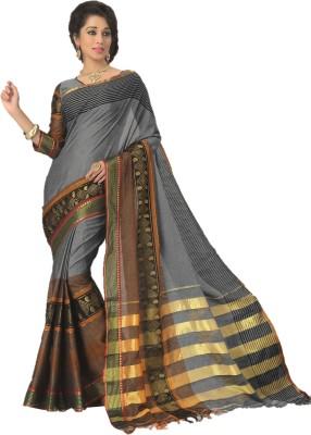 DESIGN WILLA Plain Chettinadu Cotton Sari