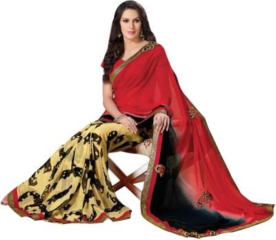 Abida Printed Fashion Art Silk Sari