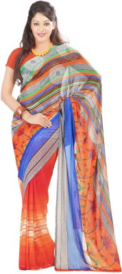 Unique Dresses Printed Fashion Art Silk Sari