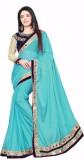 Sangini Fashion Solid Fashion Lycra Sare...
