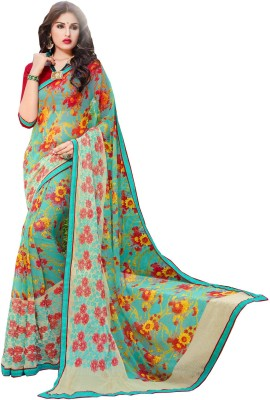 Aesha Embellished Fashion Chiffon Sari