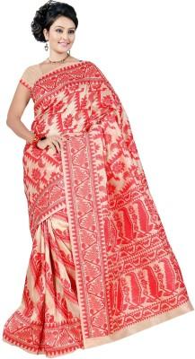 Garg Fashion Self Design Fashion Silk Sari