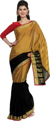 Moiaa Embellished Fashion Silk Sari