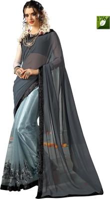 Rozdeal Self Design Fashion Net, Georgette Sari