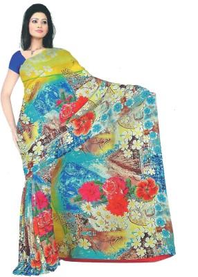 Archit Printed Daily Wear Chiffon Sari
