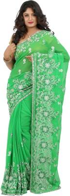 Jasmine Silk Self Design Fashion Georgette Sari