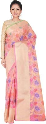 SSPK Embellished Fashion Handloom Tissue Silk Sari