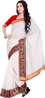 Prachi Silk Mills Embriodered Fashion Art Silk Sari