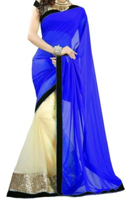 Saiyaara Fashion Self Design Bollywood Georgette Sari