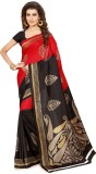 SuitsOn Printed Daily Wear Art Silk Sare...