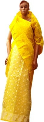 Pious Embriodered Tant Handloom Cotton Sari