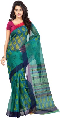 Zombom Printed Fashion Handloom Silk Sari