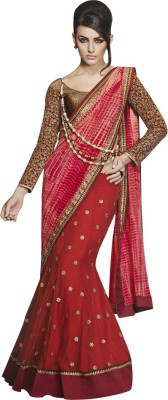 Shop Avenue Embriodered Fashion Georgette Sari