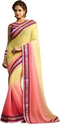 Roopleela Printed Bollywood Chiffon Sari