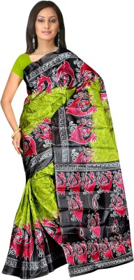 Subhash Sarees Animal Print, Printed Daily Wear Art Silk Sari