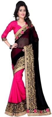 Geeta Sarees Printed Fashion Pure Chiffon Sari