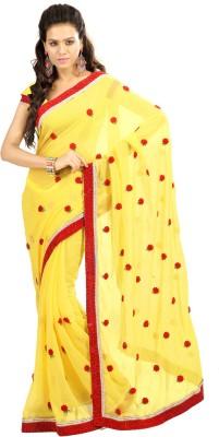 Shagun Prints Self Design Fashion Chiffon Sari