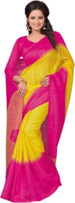 Design Villa Plain Bhagalpuri Silk Cotton Blend Sari