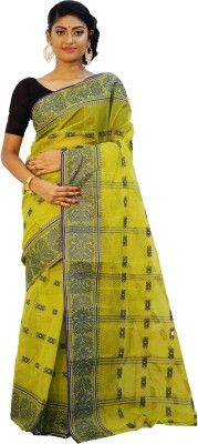 Rudrakshhh Woven Jamdani Handloom Cotton Sari