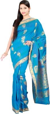 Sri Radha Krishna Textiles Floral Print Fashion Cotton Sari