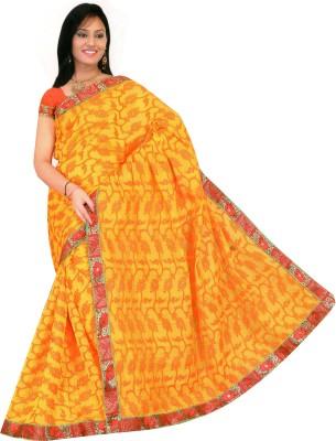 avanashi silk Printed Fashion Cotton Sari