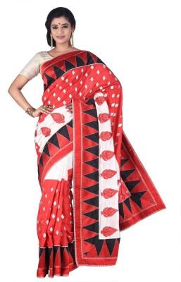 Creation Floral Print Fashion Art Silk Sari