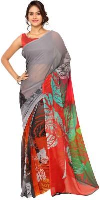 Ligalz Printed Daily Wear Georgette Sari
