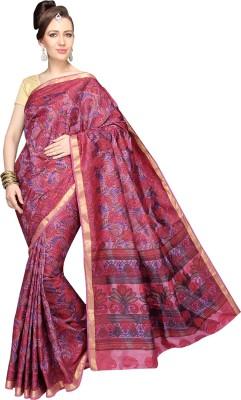 Srisukh Printed Kanjivaram Brasso Sari