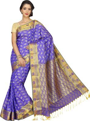 Erode Radha Embellished Fashion Raw Silk Sari