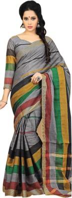 Madhevi Striped Fashion Cotton Sari