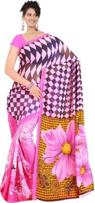 Simran Fashion Printed Daily Wear Georgette Sari