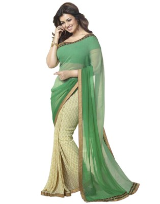 Shiroya Brothers Embriodered Fashion Pure Georgette Sari