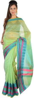 9rasa Printed Banarasi Cotton Sari