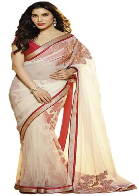 FabPandora Printed Fashion Georgette Sari