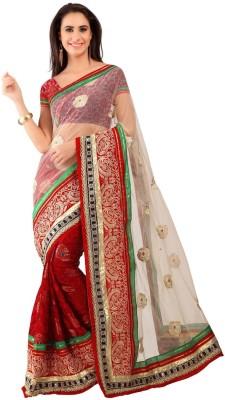 Sayonafashion Embriodered Fashion Satin Sari