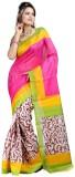 Govindam Printed Bhagalpuri Silk Sari